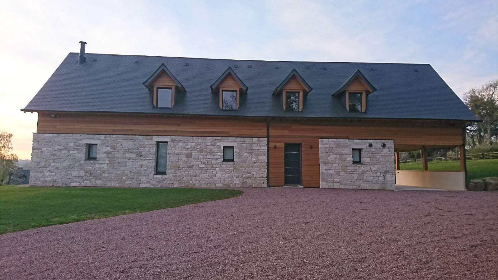 Honnet Trouver Un Constructeur De Maisons Moderne Mixte Ossature