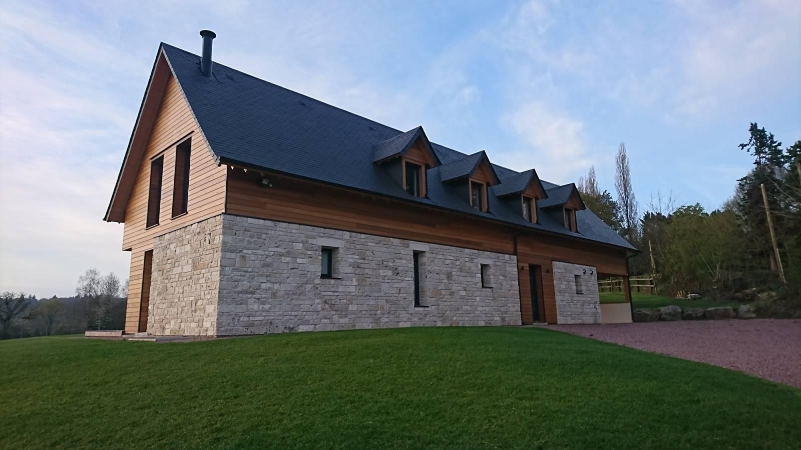 Honnet - Trouver un constructeur de maisons moderne mixte ...