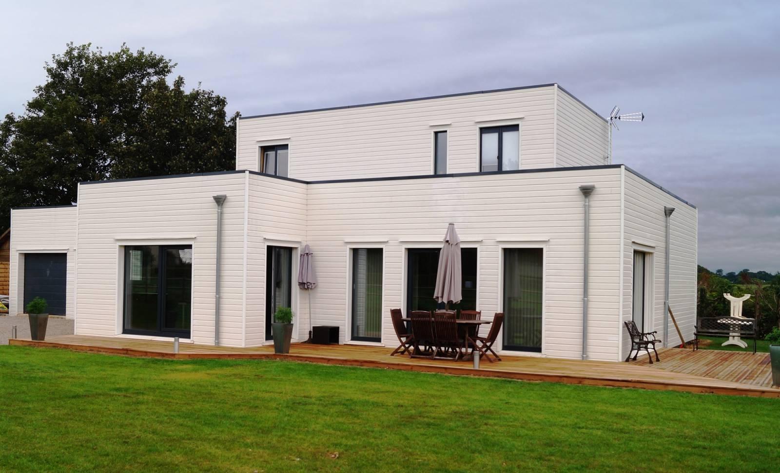 Maison En Bois Normandie construction de maison individuelle en ossature bois en